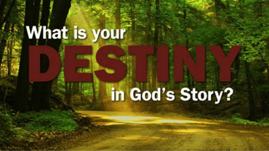 What is Your DESTINY in God's Story?